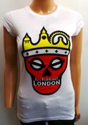 Disturbing London Ladies T-shirt White