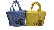 Aftershock Woven Shopper Bag