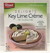 Royal Delights Key Lime Pie Filling 82g
