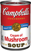Campbell's Cream of Mushroom Soup 295g