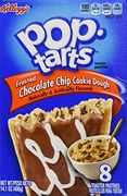 Pop Tarts Chocolate Chip Cookie Dough 400g (8 leivosta)