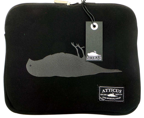 Atticus 'Harvey The Dead Bird' Laptop/Tablet Case 27cm x 23cm