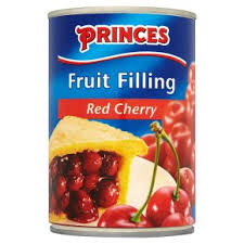 Princes Fruit Filling Red Cherry 410g
