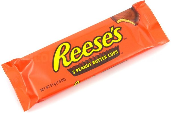 Reese's Peanut Butter Cups 3 cups 59g
