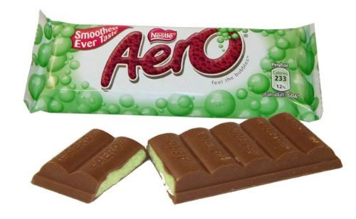 Nestle Aero Mint Bubbles 46g