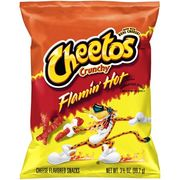 Cheetos Crunchy Flaming Hot 35g