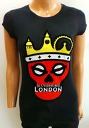 Disturbing London Ladies T-shirt Black