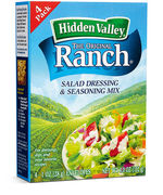 Hidden Valley Ranch Dressing Mix 4x 28g