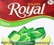 Royal Gelatine Lime 40g