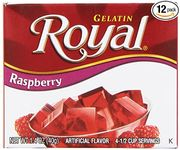 Royal Gelatine Raspberry 40g