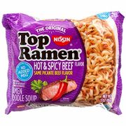 Top Ramen Hot & Spicy Beef 85g