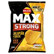 Walkers MAX Jalapeno & Cheese 70g