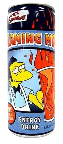 Flaming Moe Energy Drink 355ml