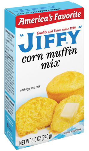 Jiffy Maissi-Muffini Mix 240g