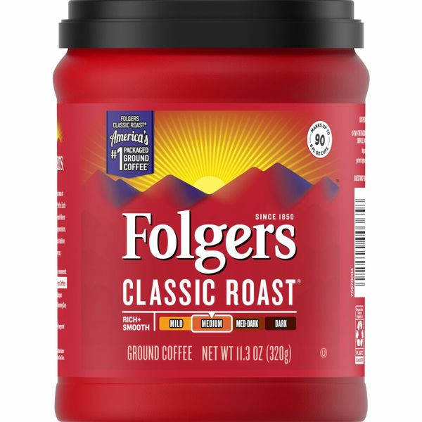 Folger's Classic Roast Ground Coffee 320g