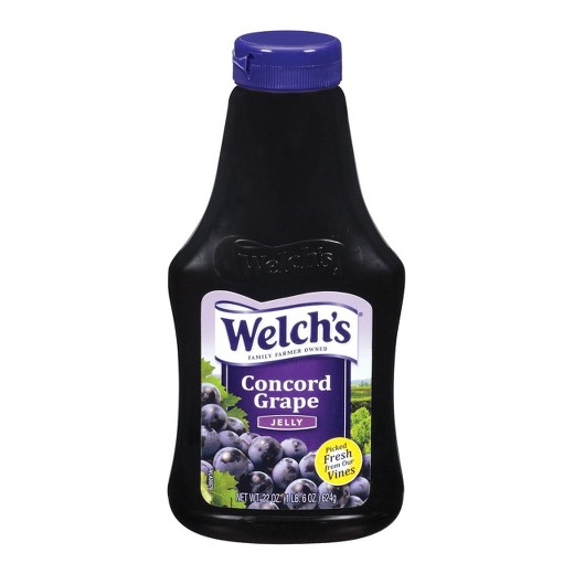 Welch's Concord Grape Jelly 624g