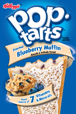 Pop Tarts Blueberry Muffin 400g