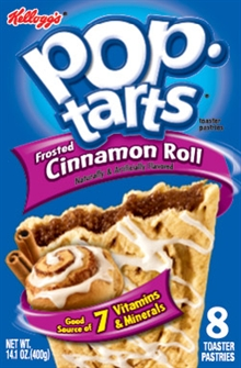 Pop Tarts Frosted Cinnamon Roll 400g