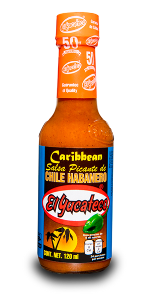 Yucateco Habanera Caribena  Hot Sauce 120ml