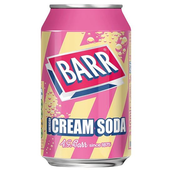 Barr Cream Soda 330 ml