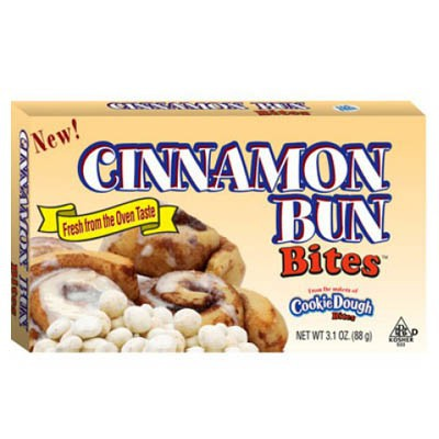 Cinnammon Bun Cookie Dough Bites