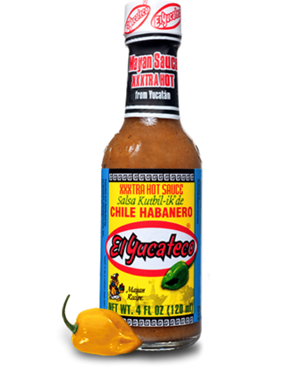 Yucateco Habanero XXXtra Hot Sauce 120ml